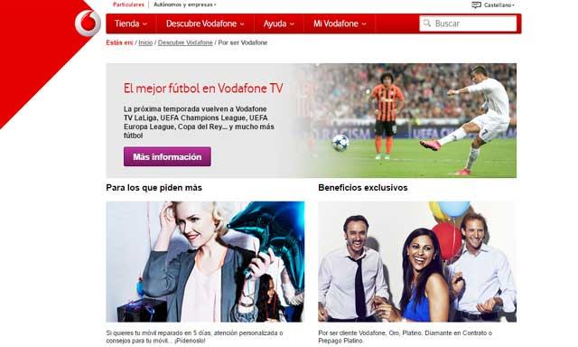Por ser Vodafone