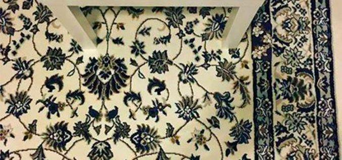 ¿Eres capaz de ver el smartphone que está camuflado en esta alfombra?